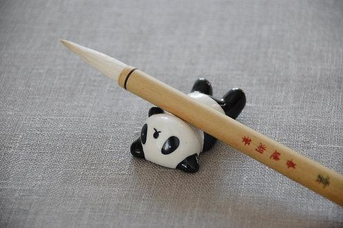 """Ceramiczna podstawka pod pędzle """"Panda"""""""