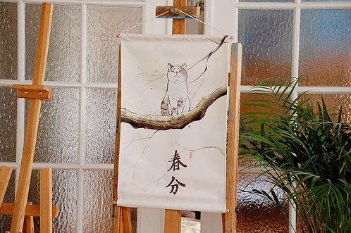 Chiński obraz na płótnie - KOTY 4 wzory