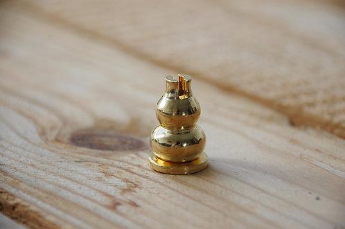 Złota podstawka do kadzidełka