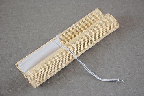 Bambusowe etui do przechowywania pędzli