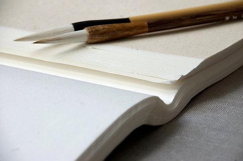 Papier ryżowy surowy 34 cm x 69 cm