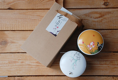 Komplet słoików do przechowywania herbaty - Chiński Wiatr