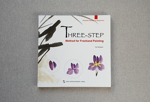 Książka o malarstwie chińskim Three step method for freehand painting
