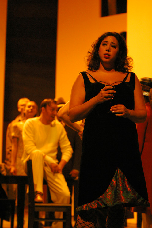 Carmen act 2 in Carmen @ Theater Osnabrück 2002