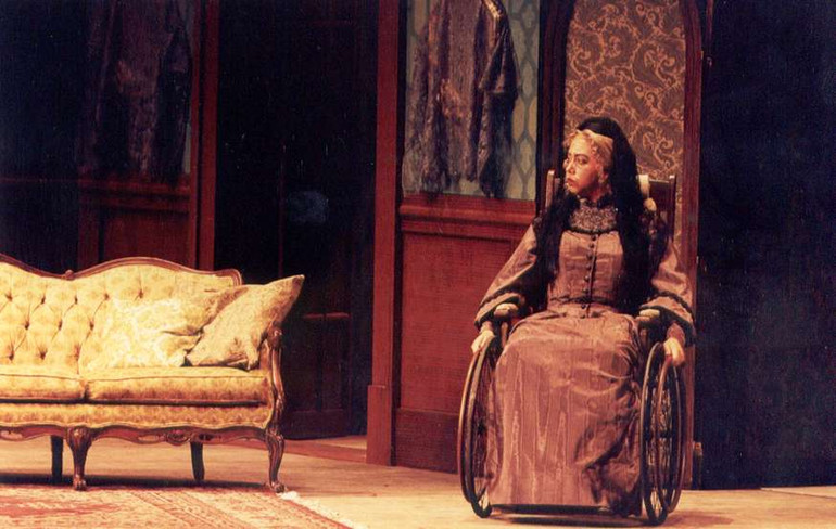 Old Baroness in Vanessa @ IU Opera Theater 199
