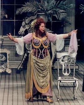 """Baba the Turk in """"The Rake's Progress"""" @ IU Opera Theater 2000"""