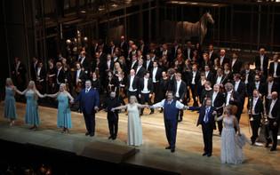 Curtain call as Flosshilde in Götterdämmerung @ Bayerische Staatsoper 2015
