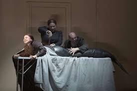 Rusalka, Jezibaba and son in Rusalka @ Komische Oper Berlin 2016