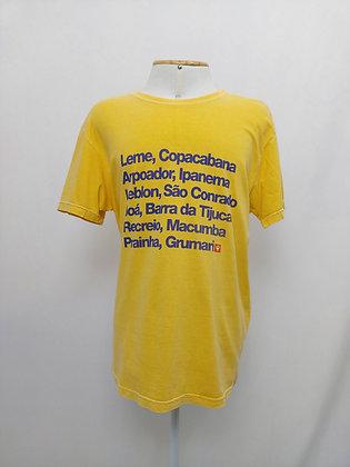 OSKLEN camiseta - tam G