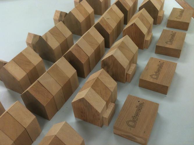 Cedar Home Blocks - Dwelle