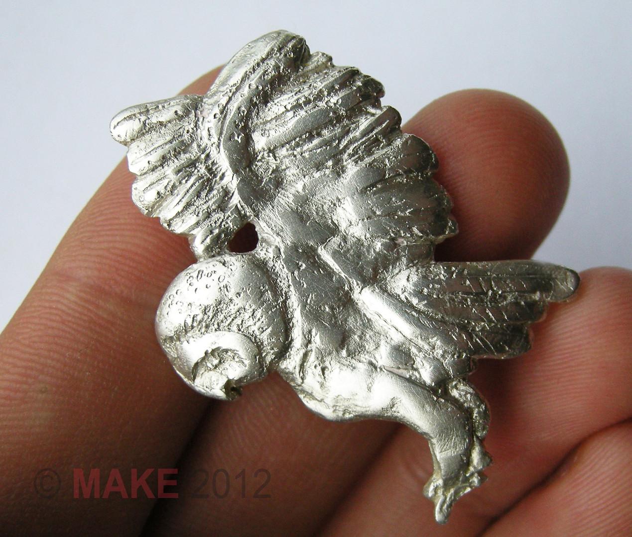 Silver Owl Broach