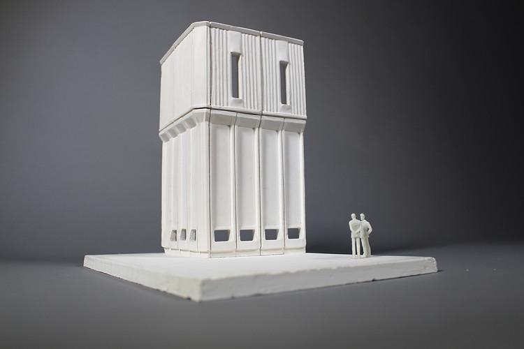 Kantorowich 1.50 Section Plaster Model