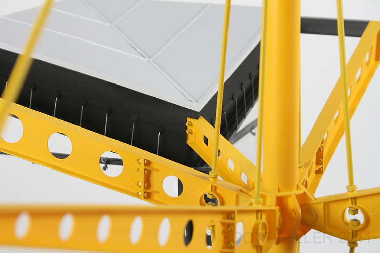 Renault Building Detail Section Model
