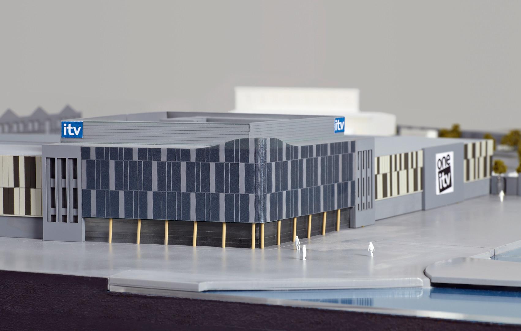 ITV Media City UK Presentation Model  - Jenkins Design 2011