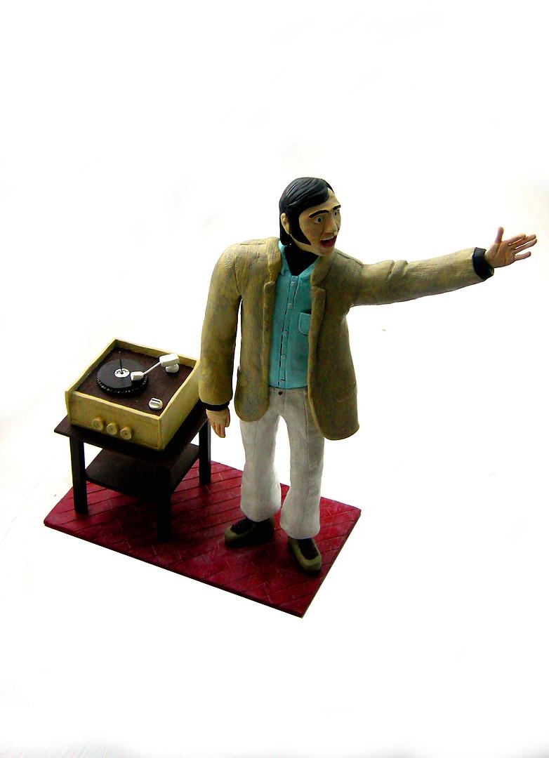Andy Kaufman Display Figure