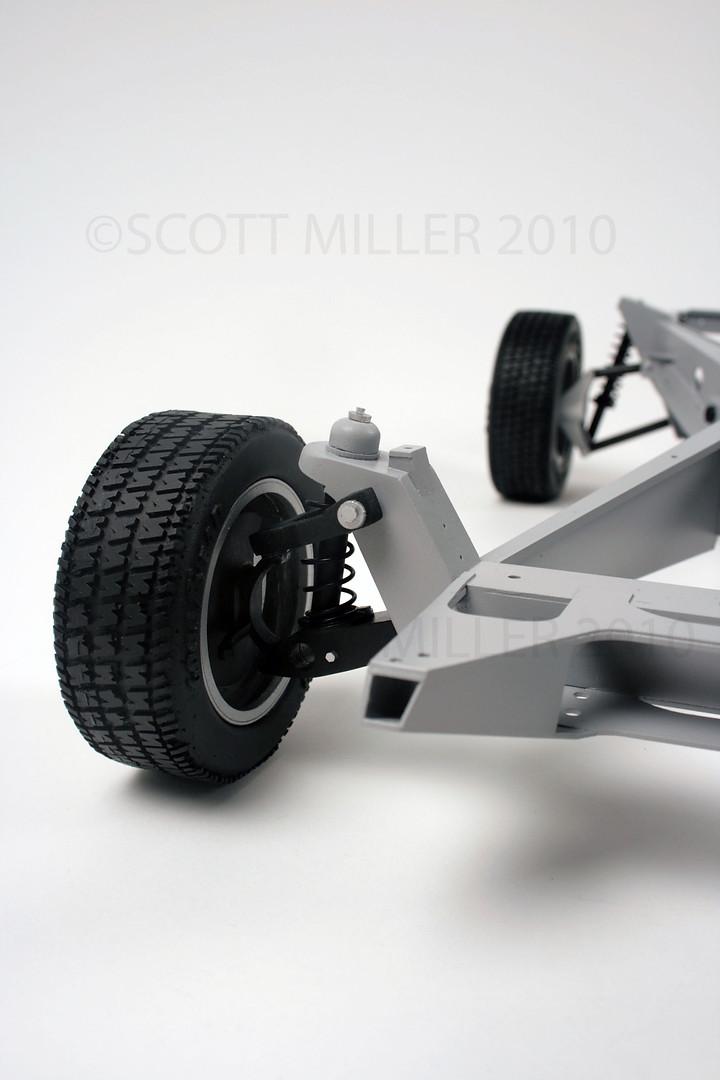 DeLorean Car Chassis Display Model
