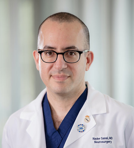 Dr. Nader Sanai of the Ivy Brain Tumor Center at Barrow Neurological Institute