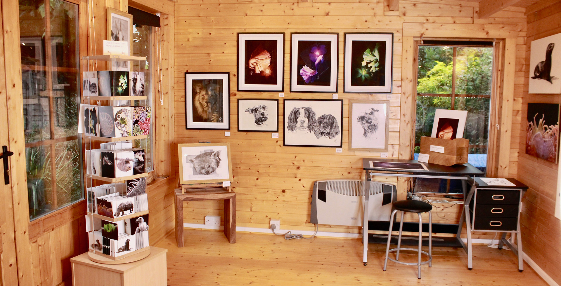 View of Exhibition Space