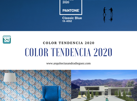 Tendencia de Color 2020