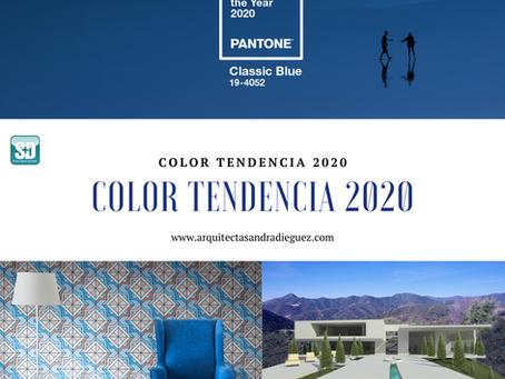 Tendencia de Color 2020