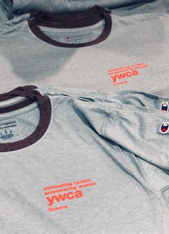YWCA Champion® t-shirts