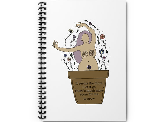 Room to Grow Spiral Notebook - Ruled Line