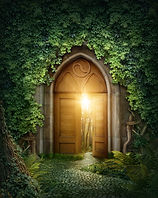 Mysterious entrance to new life or begin