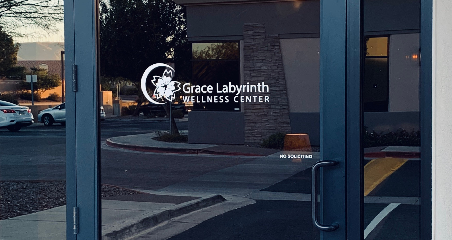Grace Labyrinth Wellness Center Front Door
