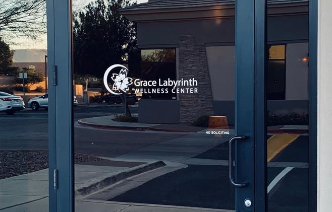 Grace Labyrinth Wellness Center Front Door