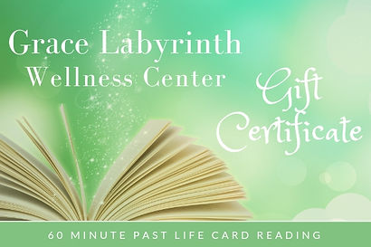 60 Minute Past Life Card Reading Gift Ce