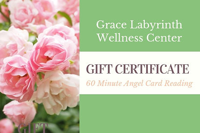 60 Minute Angel Card Reading Gift Ceriti