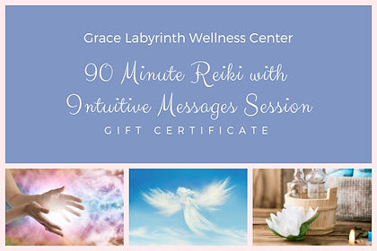 90 Minute Reiki with Intuitive Messages