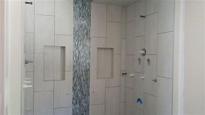 custom tile shower modular building vt