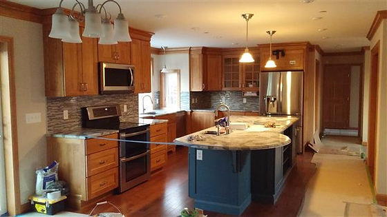 granite kitchen countertop modular customer home