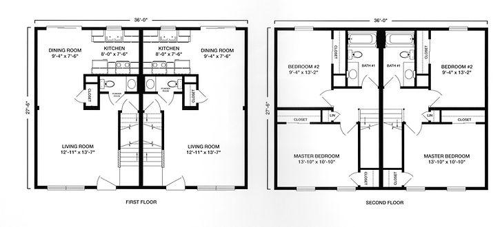 vt modular duplex two story