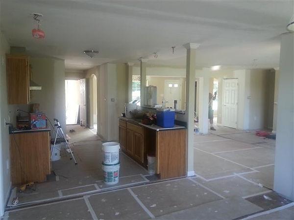 open kitchen modular home