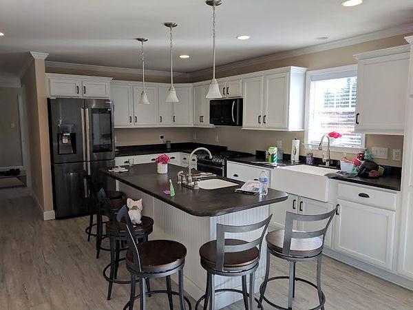 white kitchen cabinets modular