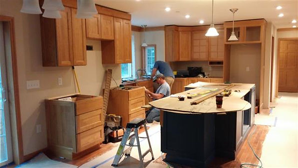 custom kitchen modular construction vt