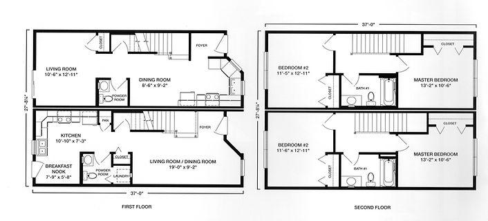 end elevation modular duplex