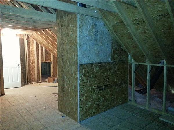 attic space unfinished cape modular