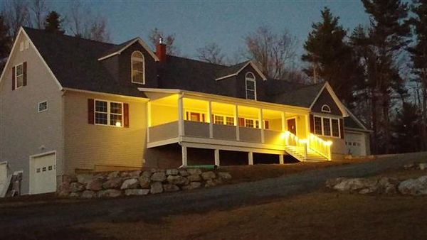 custom cape modular home vt