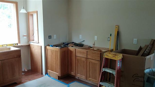 maple cabinets modular home