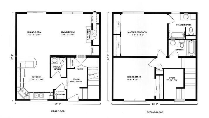 open living rental modular home