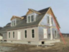 modular home, story and a half, colonial modular