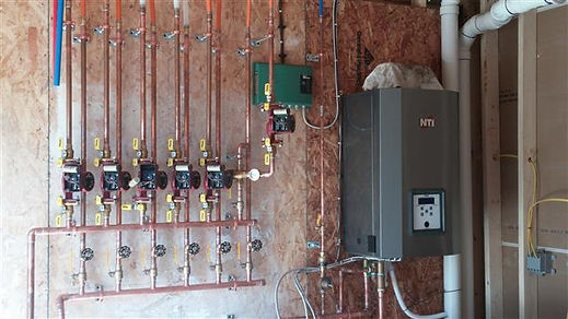 high effeciency boiler vt modular home