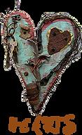 """hearts Award Winning Environmental Folk Artist Rodney """"Rodrigo"""" McCoubrey"""
