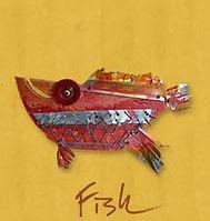 """fish Award Winning Environmental Folk Artist Rodney """"Rodrigo"""" McCoubrey"""