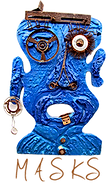 """masks Award Winning Environmental Folk Artist Rodney """"Rodrigo"""" McCoubrey"""