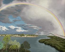 Rainbow Over Belleair Beach