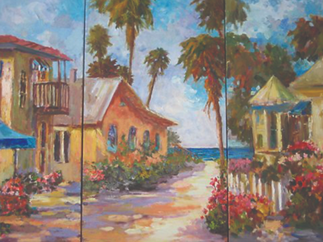 Tryptych image from Dupont Registry arti